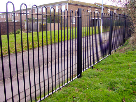 Bow Top Fencing Triad Steel Security Solutions