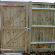 Close Board Gate