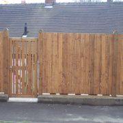 Wood fencing 001