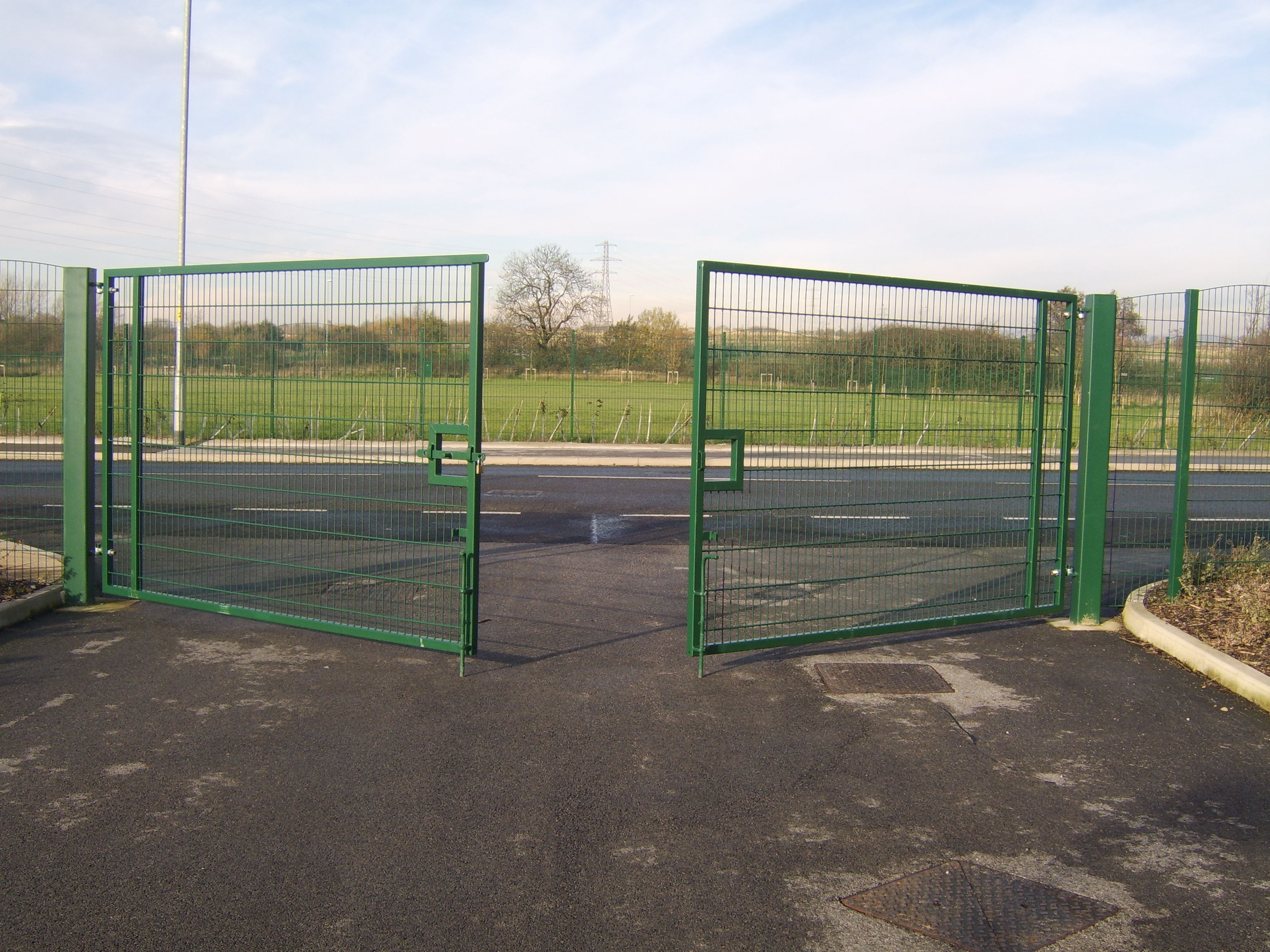 Mesh Fencing Triad Steel Security Solutions