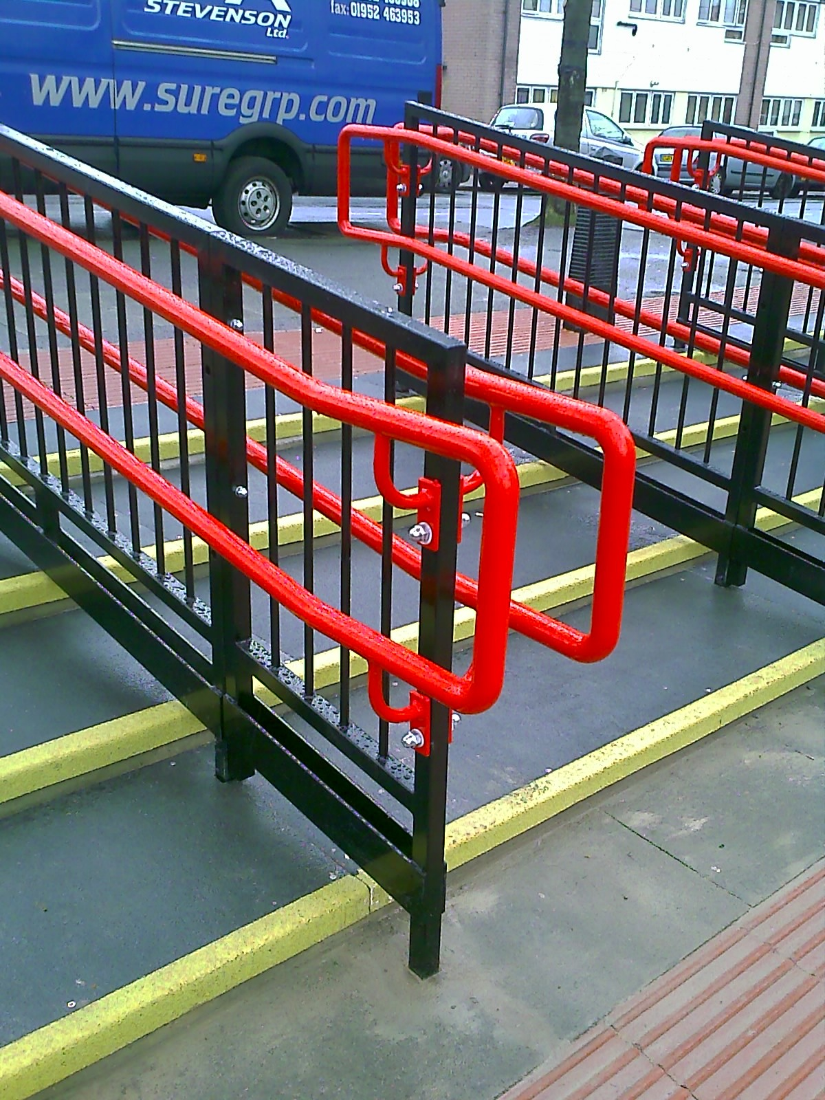 Hand Rails Amp Balustrades Triad Steel Security Solutions