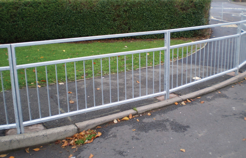 Pedestrian Barriers Triad Steel Security Solutions